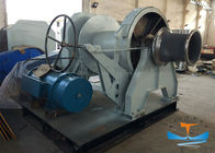30T One Drum Marine Electric Winch 38mm Mooring Winch With One Warping Head