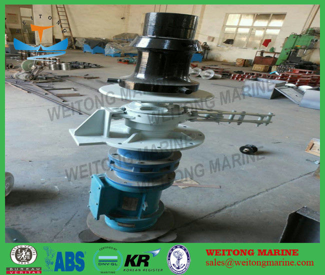 Vertical Steel Marine Capstan Winch Length Measuring Device For Anchoring