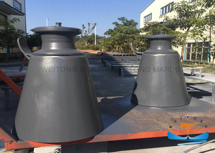 Marine Single  Pedestal Warping Roller Mooring Conical Fairlead Type A