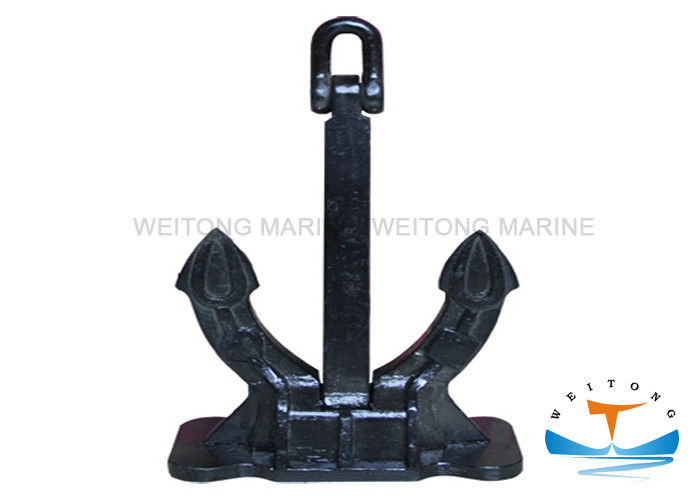 Corrosion Resistance Spek Type Anchor , Vinyl Coated Boat Anchors CCS Certificated