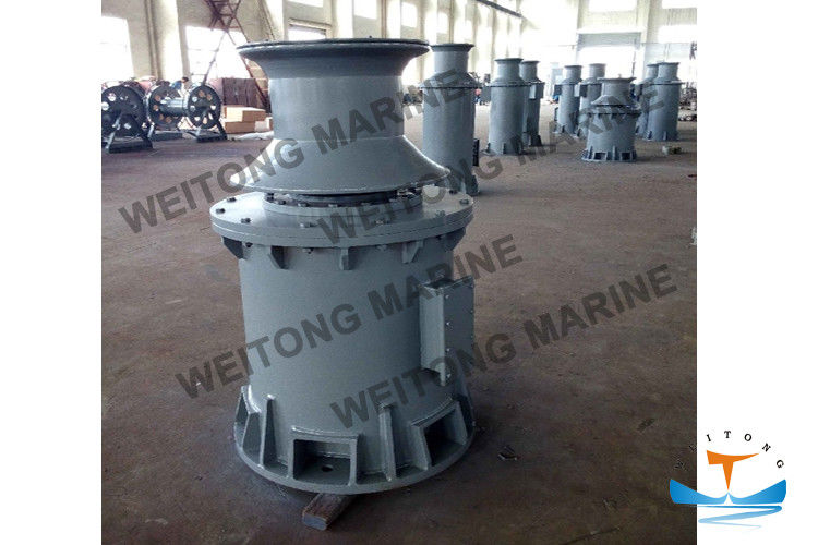 Machinery Hydraulic Capstan Rope Winch BV Certificated For Marine Deck