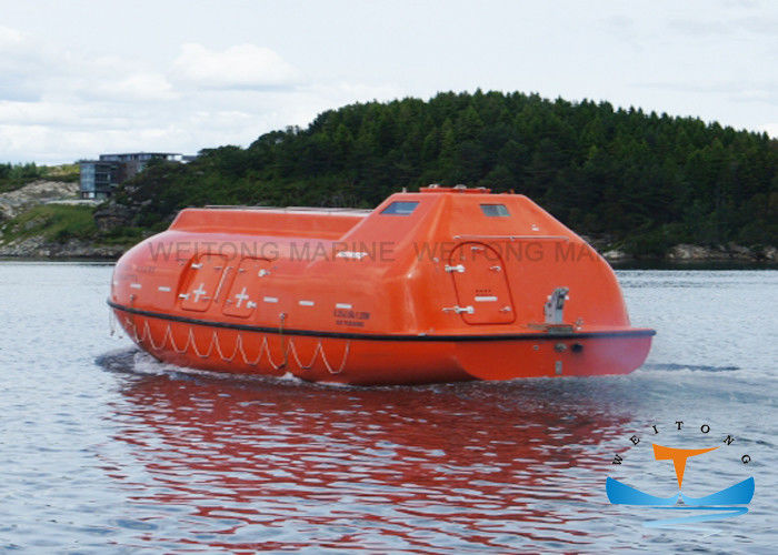 Partially Enclosed Lifeboat Rescue Boat 45 Person Capacity CCS Certificated