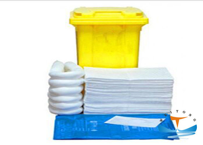 Pp Oil Spill Kit , Fuel Spill Kit For Oil Pollution Control Emergency