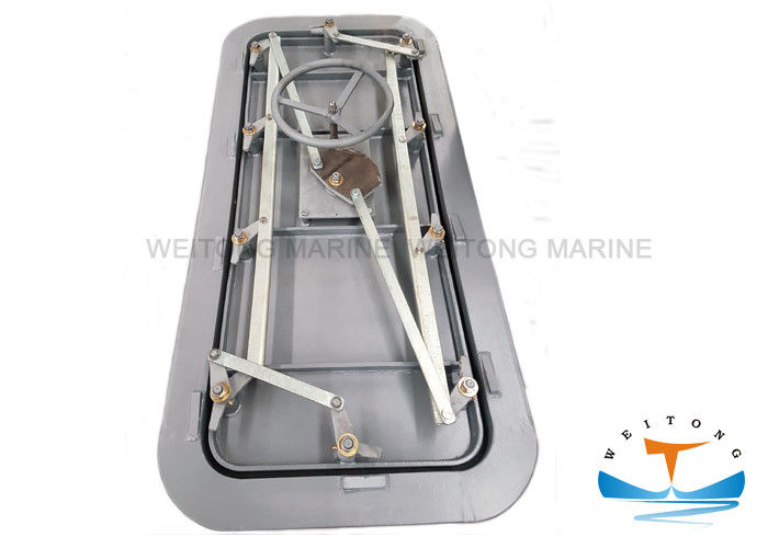 Vessel Watertight Steel Doors Fire Proofing GB/T3477-1996 Standard With Handle