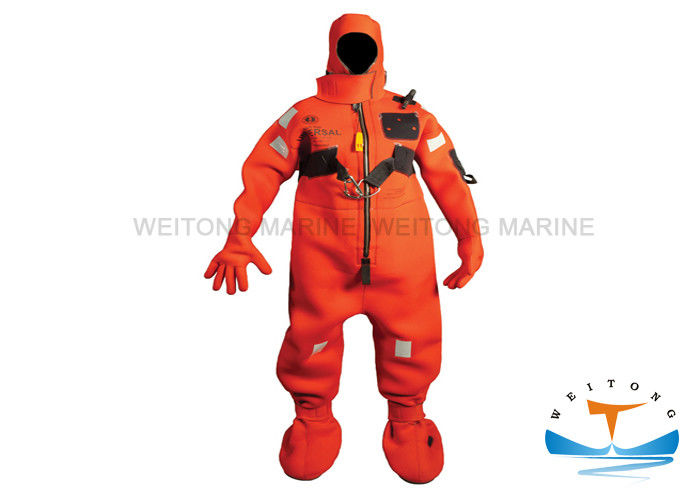 OEM Marine Safety Equipment , SOLAS Marine Seaman Insulated Immersion Suit With CCS