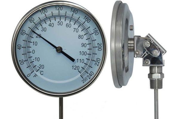Stainless Steel Adjustable Remote Reading Thermometer / Bimetal Thermometer
