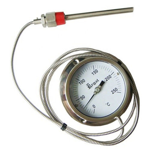 High Accuracy Capillary Remote Reading Thermometer 0 - 150C Temperature Range